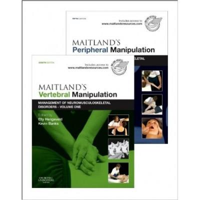 Maitland's Vertebral Manipulation, 8e and Maitland's Peripheral Manipulation, 5e (νέα έκδοση)