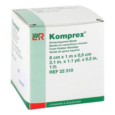 Komprex Foam Rubber Bandage - Ρολό συμπιεστικού επιθέματος | Lohmann & Rauscher | Healthaction