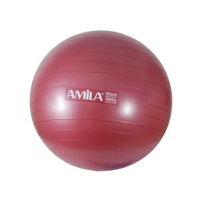 Μπάλα γυμναστικής 75cm - 1800gr - Κόκκινη