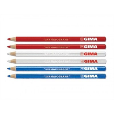 Δερμογραφικά μολύβια - Σετ 6 τεμάχια