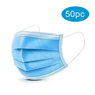 Χειρουργικές μάσκες προσώπου 50pcs/box μιας χρήσης
