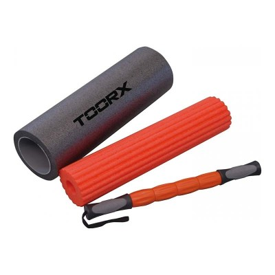 Foam Rollers Combo Plus - 3 σε 1 - Toorx