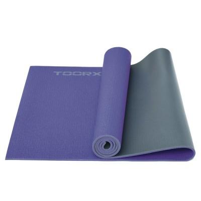 Στρώμα DUAL COLOR Yoga/Pilates and Fitness Μωβ/γκρι-Toorx
