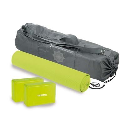 Yoga set Toorx - Στρωμα με 2 τουβλάκια & ειδική θήκη μεταφοράς