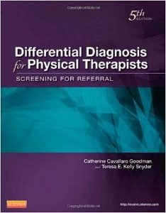 Differential Diagnosis for Physical Therapists, Catherine C. Goodman