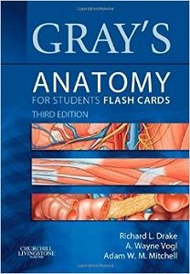 Grays Anatomy for Students Flash Cards, Richard Drake