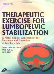 Therapeutic Exercise for Lumbopelvic Stabilization, Carolyn Richardson